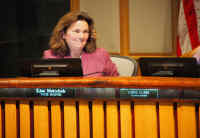 Vice Mayor Lisa Matichak after being elected at January 9 meeting