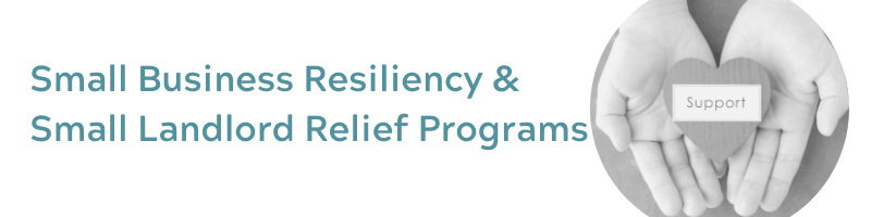 Small Business Resiliency and Small Landlord Loan Programs